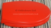 Armitage Shanks S4056GQ Seat Red for 305mm-high wc