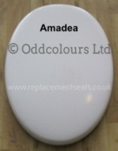 V & B Amadea Seat in White