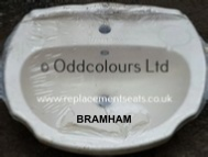 Ideal Standard Bramham 56cm 1TH Basin in Whisper Cream