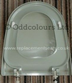Twyfords Capricorn Seat in Linden Green