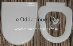 Capricorn Seat and cover re-coated to White