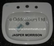 Ideal Standard Jasper Morrison semi-recessed 3TH Basin