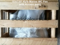 Armitage Shanks Kyle Marine WC Pan only (Crated)  S357301
