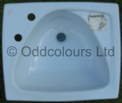 Ideal Standard Mitre 50cm 2TH Vanity Basin in Whisper Blue