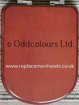 Resin Replica in Mahogany-effect with Soft-Close hinges