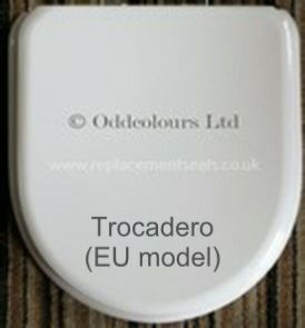 Jacob Delafon Trocadero Resin Replica Seat  (European model only!)