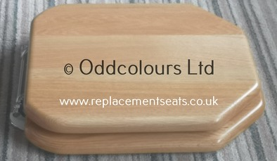 Solid Natural Oak replacement Savoy Seat